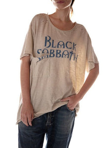 Apricot Letter Cotton-Blend Casual Round Neck Shirts & Tops