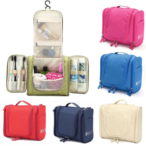 Waterproof Multifunction Travel Wash Cosmetic Bag Makeup Storage Hanging Case Bag