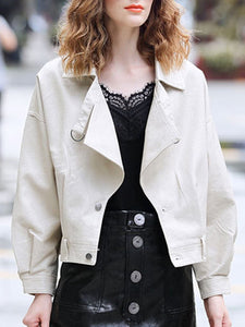 Shift Long Sleeve Casual Buttoned Outerwear