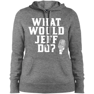 What Would Jeff Do? Logo - Ladies Sweatshirt