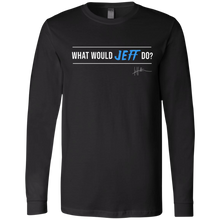 Load image into Gallery viewer, What Would Jeff Do Signature - Mens Long-sleeve Tee