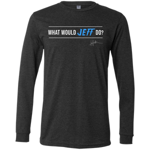 What Would Jeff Do Signature - Mens Long-sleeve Tee