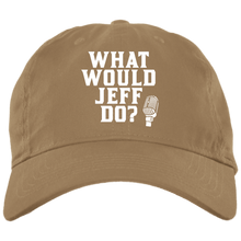 Load image into Gallery viewer, WWJD? Brushed Twill Cap