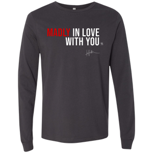 Madly In Love With You - Mens Long-sleeve Tee