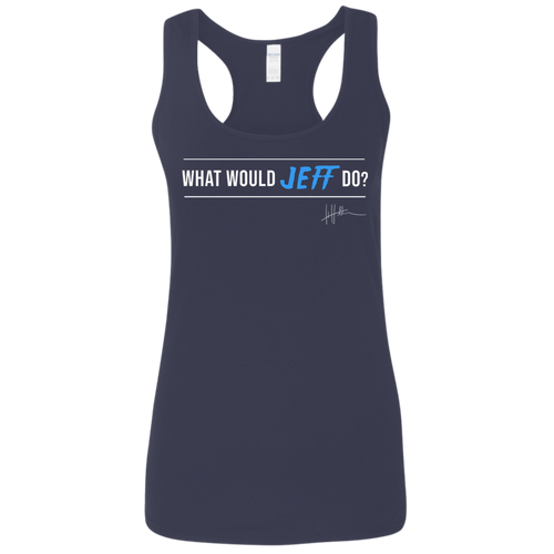 What Would Jeff Do? Signature - Ladies Tank