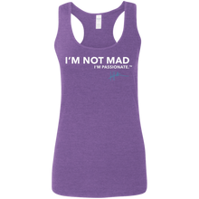 Load image into Gallery viewer, I'm not mad. I'm passionate - Ladies Tank