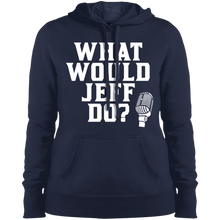 Load image into Gallery viewer, What Would Jeff Do? Logo - Ladies Sweatshirt