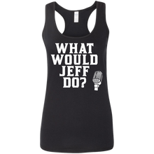 Load image into Gallery viewer, What Would Jeff Do? Logo - Ladies Tank