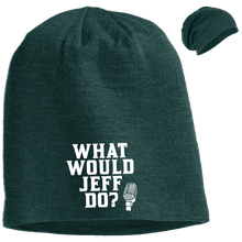 Load image into Gallery viewer, WWJD? Slouch Beanie