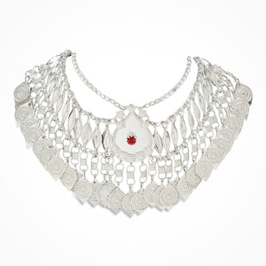 Regal Sterling Silver Necklace