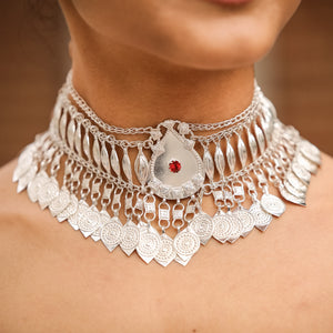 Regal Sterling Silver Choker