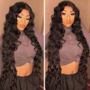 3 Bundles 9A Loose Deep Wave Human Hair Bundles Natural Color