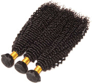 Kinky Curly Hair Bundles 9A 100% Human Hair Natural Color - ashimaryhair