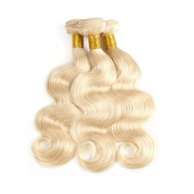 Hair Bundles 613 Honey Blonde Hair Body Wave 100% Human Hair - ashimaryhair