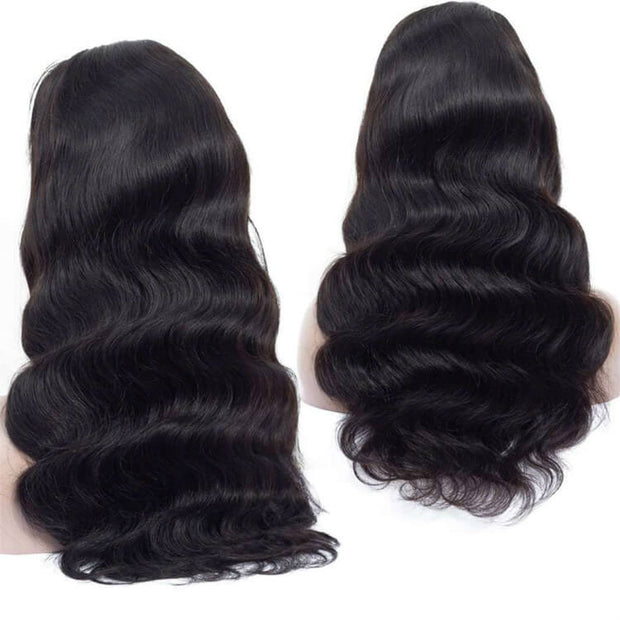 Body Wave Full Lace Wig Human Hair Wigs Brazilian Hair -AshimaryHair.com