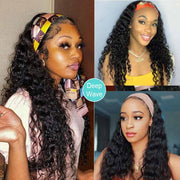 Best Headband Wigs Human Hair For Curly/Weavy/Straight Hair-AshimaryHair.com