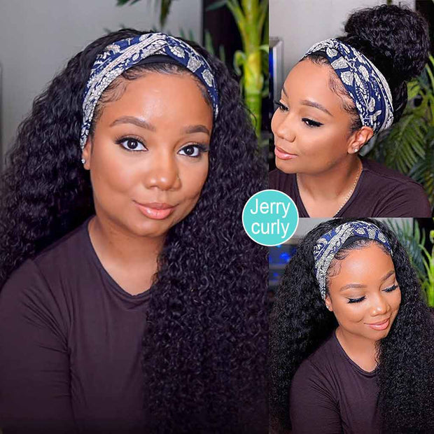 Best Headband Wigs Human Hair For Curly Hair-AshimaryHair.com