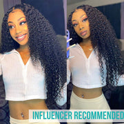Ashimary 9A Jerry Curly Virgin Hair 3 Bundles With Frontal Human Hair - ashimaryhair