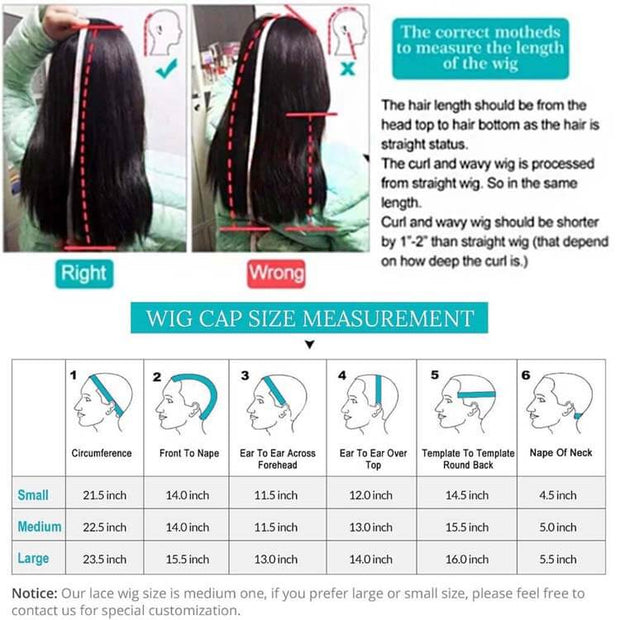 28-44 Inch Long Wigs Human Hair 13*4 Lace Front Wigs Straight-AshimaryHair.com