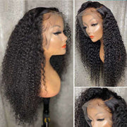 13*6 Big Lace Front Wig Jerry Curly Ashimary 150% 180% 250% Density Virgin Hair
