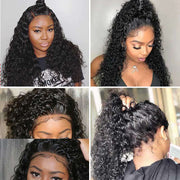 Water Wave 13*6 Big Lace Front Wig Ashimary Hair 150% 180% 250% Density Virgin Hair