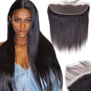 Straight Hair Lace Frontal 13x4Inchs 100% Human Hair Unprocessed - ashimaryhair