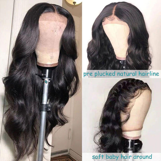 Lace Front Wig 13*4 Frontal Body Wave Brazilian Human Hair-AshimaryHair.com