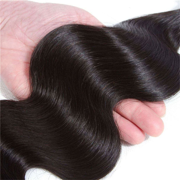 3 Bundles 10A Body Wave 100% Human Hair Bundles Natural Color - ashimaryhair