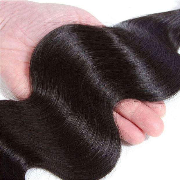 Body Wave  Hair 1 Bundle 10A Brazilian Human Hair Natural Color - ashimaryhair
