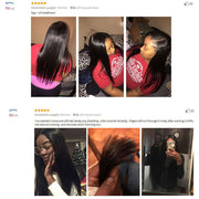 3 Bundles 9A Straight 100% Human Hair Bundles Natural Color - ashimaryhair