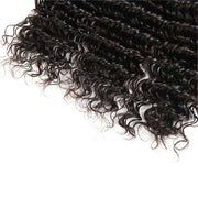 3 Bundles 10A Deep Wave Human Hair Bundles Natural Color - ashimaryhair