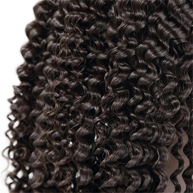 Kinky Curly 13*4 Lace Front Wigs Curly Human Hair Wig-AshimaryHair.com