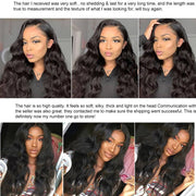 9A Body Wave Virgin Hair 3 Bundles with Closure Natural Color Indian Hair - ashimaryhair