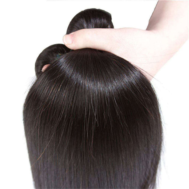 Best Human Hair Bundles Straight Brazilian Hair Weave-AshimaryHair.com