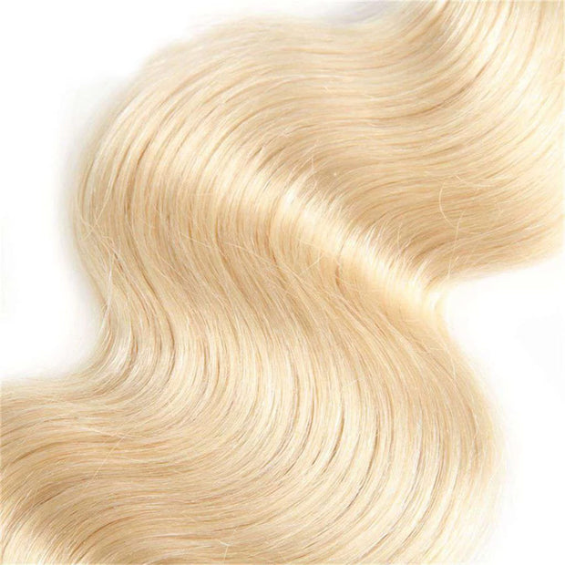 Honey Blonde 3 Bundles Body Wave Brazilian Human Hair Bundles - ashimaryhair