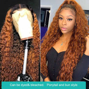 HD Lace Wigs Water Wave 13*4 Lace Front Human Hair Wigs-AshimaryHair.com