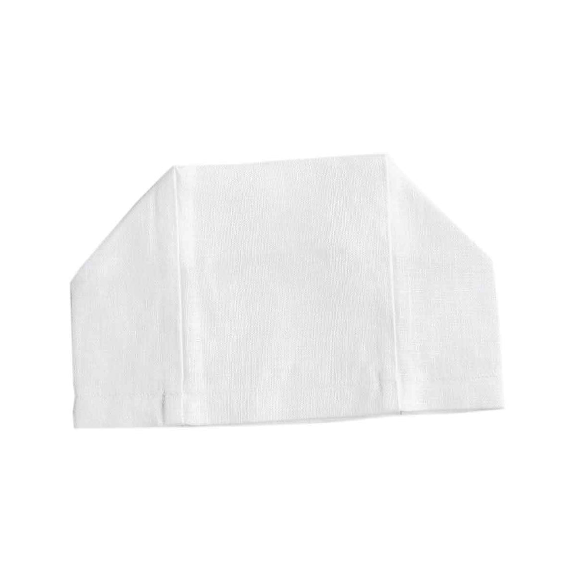 En Plain Air Tissue Box Cover | Garden Folly Fine Linens - tissue box covers for embroidering, fancy linen tissue box covers, European linen tissue box covers