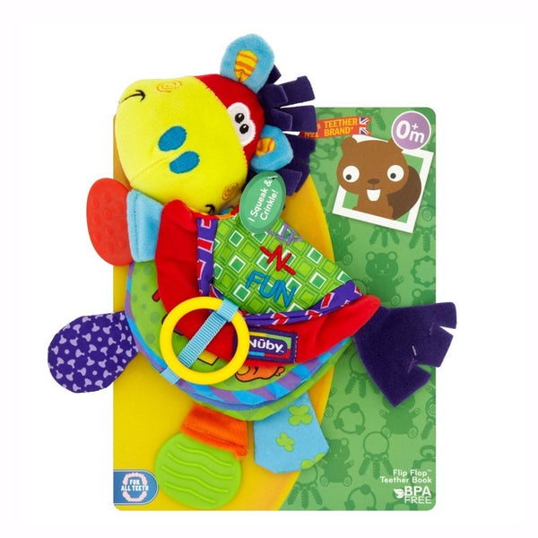 Flip Flop Book Teether Toy