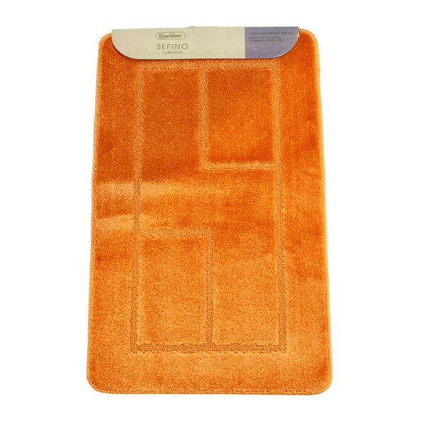 Sepino Collection 2 Piece Bath Mat Set