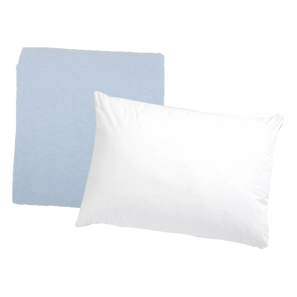 Cot Pillow and Pillowcase Pair Bundle