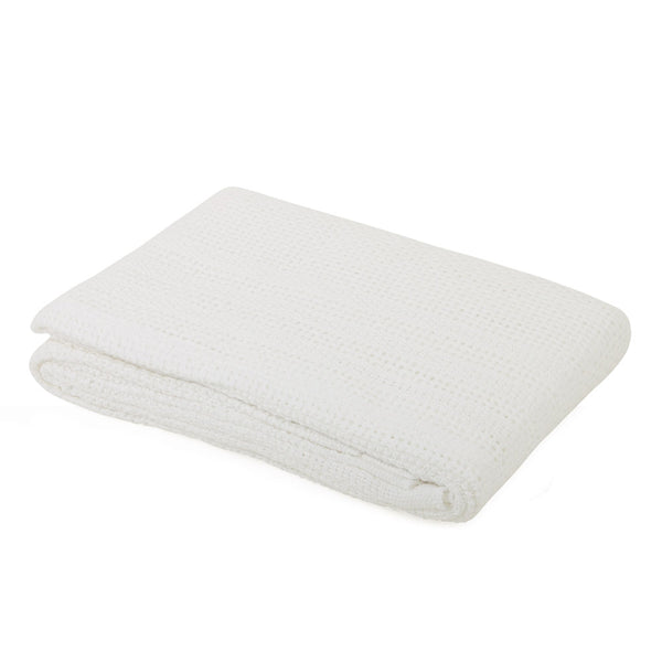 Cot Cotton Cellular Blanket