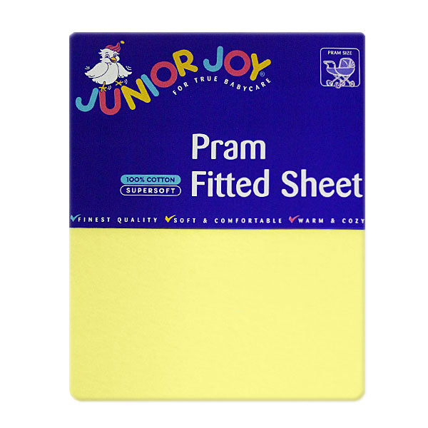 Pram Fitted Sheet