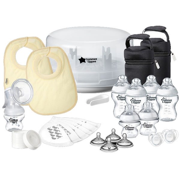 Microwave Steriliser & Breast Pump Kit