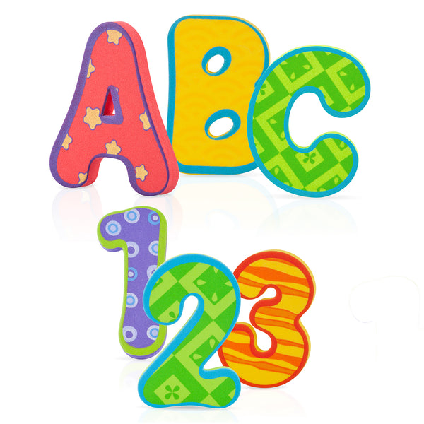 Bath Alphabet Letters and Numbers