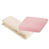 2 Cot Fitted Sheets & Cellular Blanket Bundle