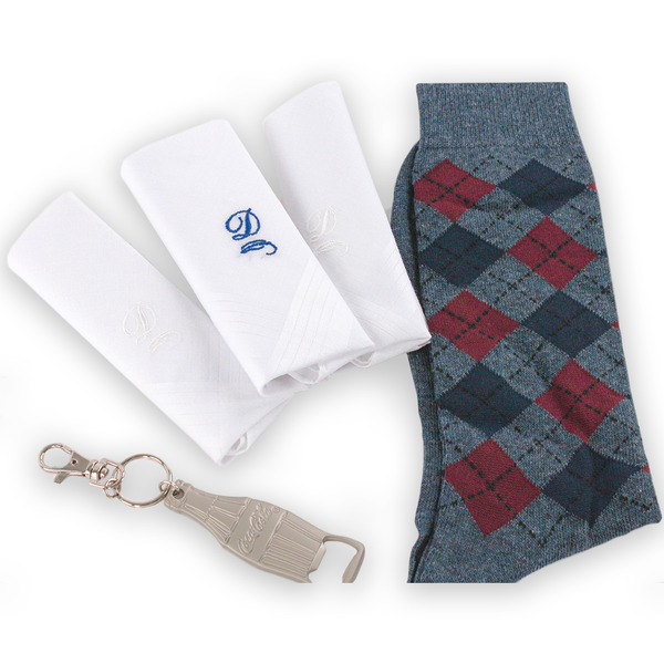 Initials Handkerchief Bundle
