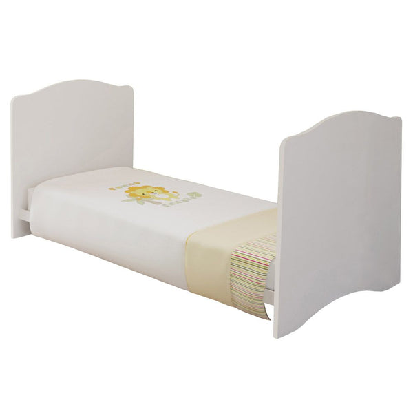 Kidsaw Kudl Kids Cot Bed - White