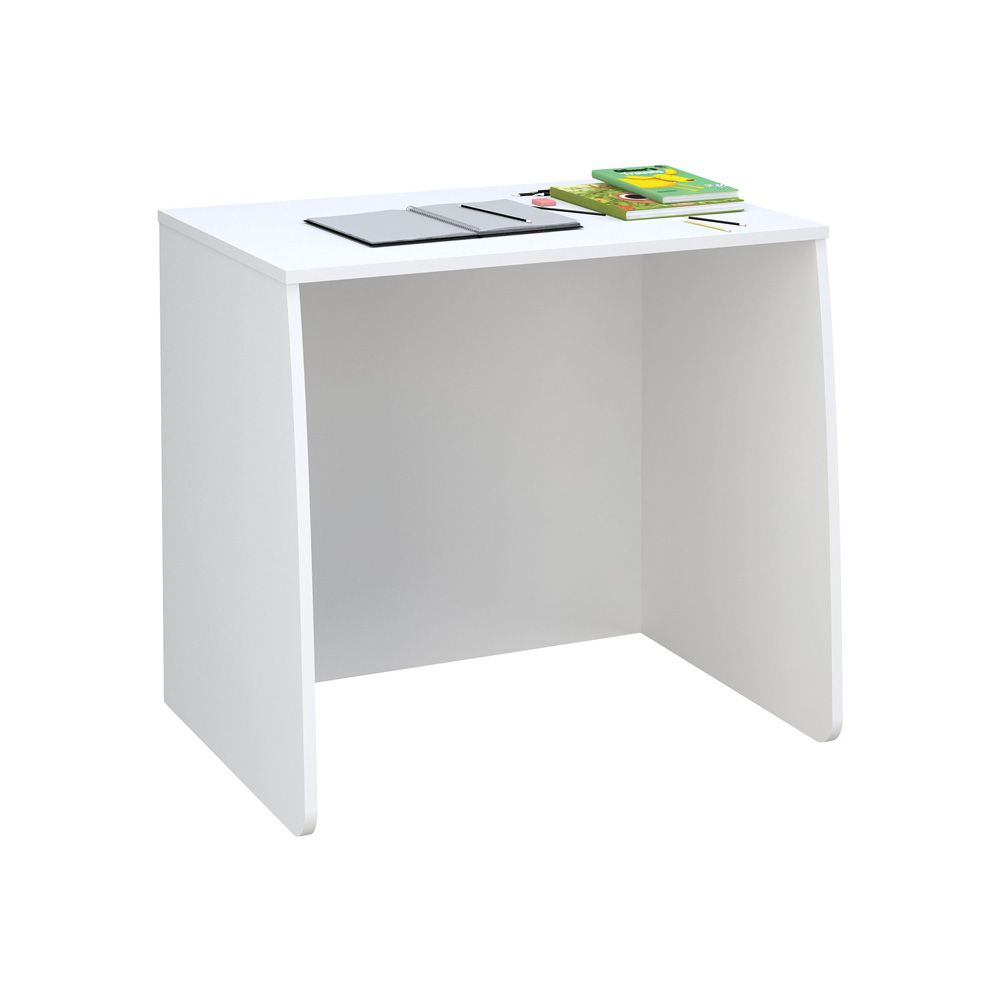 Loft Station Desk White