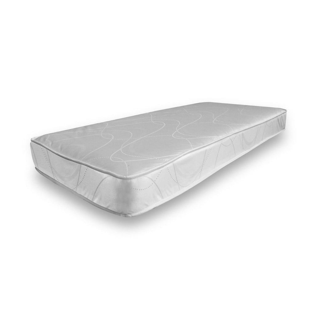 White Single Sprung Mattress