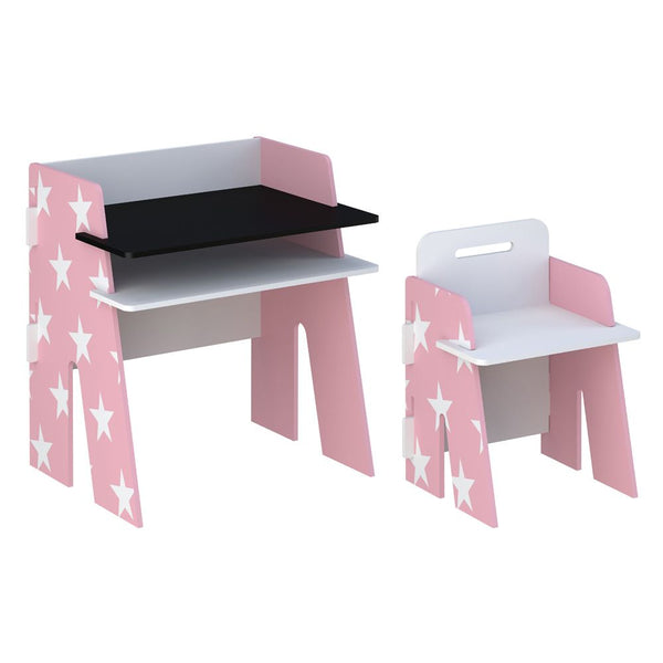 Star Desk & Chair Pink